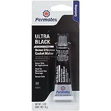 Permatex 22072 Ultra Black Maximum Oil Resistance RTV Silicone Gasket Maker, .5 oz. Tube