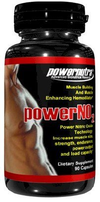 Puissance NO2 - 90 Capsules nitrique Muscle Building Oxide And Muscle Améliorer Hemodilator