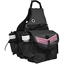 Derby Originals Tahoe Multi Pocket Saddle Bag for Trail Riding Waterproof Nylon