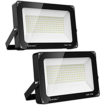 Heilsa 500W LED Flood Light, 55000LM 2800-3000K (Warm White ...