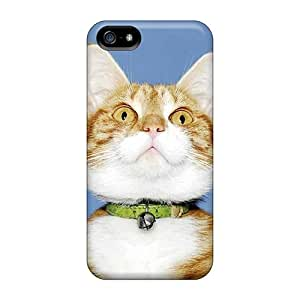 Cute Appearance Cover/tpu HKP13731fuBZ Cuddly Kitten Case For Iphone 5/5s