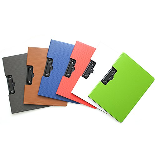 Zhi Jin A4 Standrad Horizontal Foldover File Foolscap Clipboard Document Folder Clip Board Hardback Red