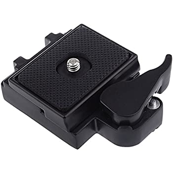 Neewer BestDealUSA Camera Quick Release Assembly and Sliding Plate Mount-Black