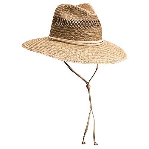 6c1e3e8550e28 Dorfman Pacific Cedar Key Rush Straw Lifeguard Sun Hat (Medium ...