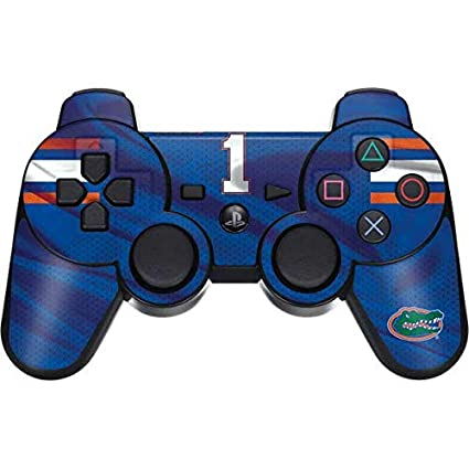 premium selection 455e1 27f8b Skinit Florida Gators Jersey PS3 Dual Shock Wireless Controller Skin -  Officially Licensed College Gaming Decal - Ultra Thin, Lightweight Vinyl  Decal ...