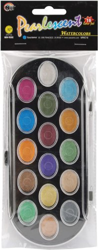 pearlescent-watercolor-paint-cakes-16-pkg-assorted-colors