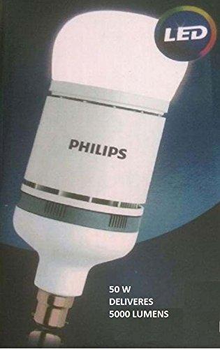 Philips Stellar Bright Base B22 50-Watt LED Bulb (White)