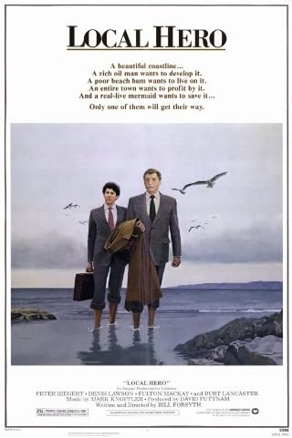 Amazon.com: Local Hero Movie Poster (27 x 40 Inches - 69cm x 102cm) (1983)  -(Peter Riegert)(Denis Lawson)(Burt Lancaster)(Fulton Mackay)(Jenny  Seagrove)(Peter Capaldi): Prints: Posters & Prints