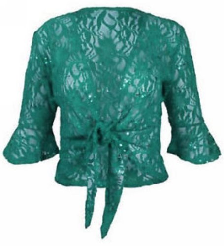 cardigans femmes attacher sequins green de lacet de taille hausse les plus nouvelles vH4UAqH