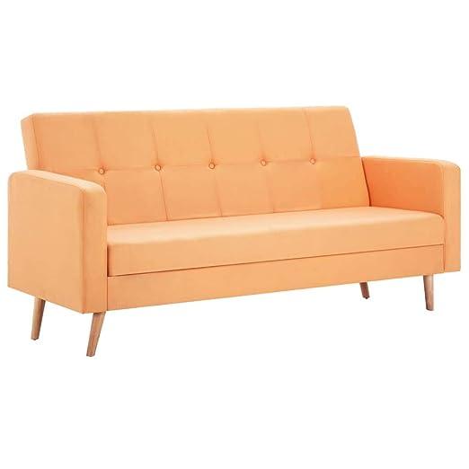 Xingshuoonline - Sofá de Tela Amarilla para Oficina, sofá ...