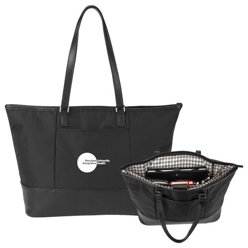 Maryland Integrative Health Stella Black Computer Tote 'Primary Mark' by CollegeFanGear