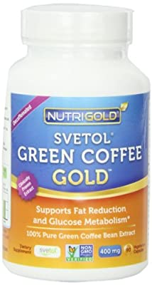NutriGold Pure Green Coffee Bean Extract,