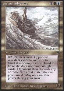 Magic: the Gathering - Nebuchadnezzar - Legends