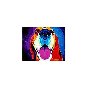 YMX DIY Family Malen nach Zahlen Farbe Beagle Handmade ...