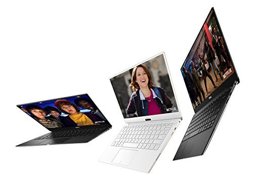 "Dell XPS 9370 Laptop, 13.3"" UHD (3840 x 2160) InfinityEdge Touch Display, 8th Gen Intel Core i7-8550U, 16GB RAM, 512 GB SSD, Windows 10, Silver"