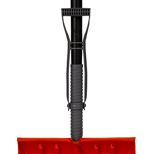 Emsco Bigfoot Series 18 in. Poly Combination Snow Shovel with Adjustable Power Lift Ergonomic Handle