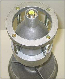 Portable Bubble Wheel Balancer Bullseye Level