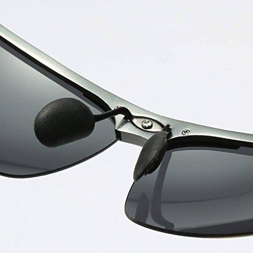 Protection Lunettes 2 polarisées Mengonee Hommes de équitation d'extérieur Cadre unisexe Femmes Mg Lunettes Coolsir UV400 Al soleil zfqU0f