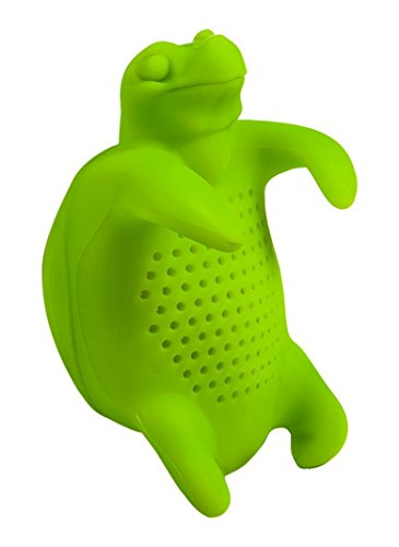GAMAGO EA1636 Tea Turtle Infuser, Green (Turtle Time Tea)