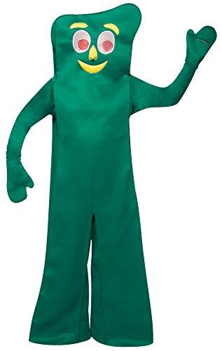 UHC Unisex Gumby Retro Cartoon Funny Theme Party Adult Halloween Costume, -