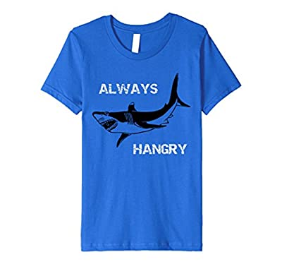 Always Hangry Funny Shark T-Shirt