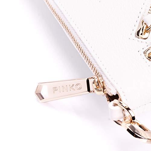 Pochette Con Bianco Tracolla 1p20mh Pinko Art Donna Pelle Y27g Borsa REnBqq5w