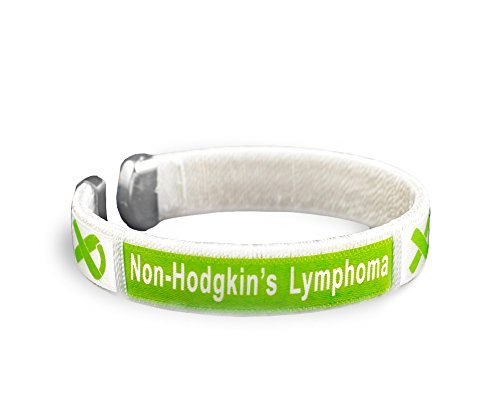 Fundraising For A Cause Non-Hodgkin's Lymphoma Awareness Lime Green Bangle Bracelet - Adult Size (1 Bracelet - Retail)