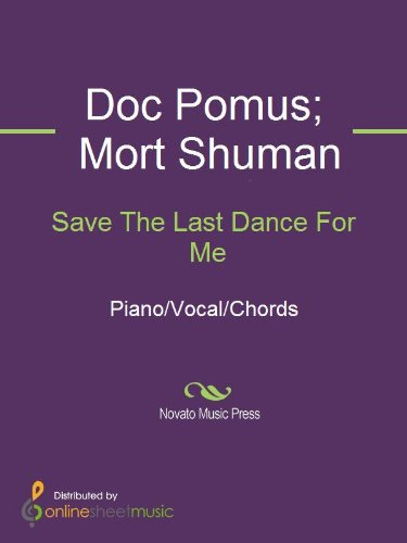 Save The Last Dance For Me Kindle Edition By Doc Pomus Dolly