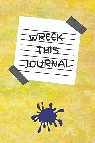 Wreck This Journal: A Challenge Book with Tasks to