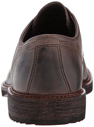 Toe Dark Tie Clay Kenton Oxford Plain ECCO Men's Ttq4x