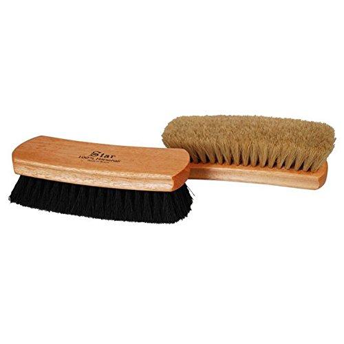 Professional Shoe Shine Polish Buffing Brush Star Brush 100% Horse Hair 9