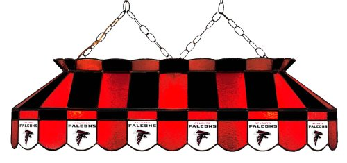 (Imperial Officially Licensed NFL Merchandise: Tiffany-Style Stained Glass Billiard/Pool Table Light, Atlanta Falcons)