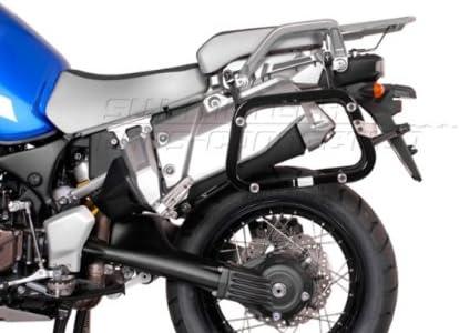 Sw Motech Evo Kofferträger Quick Lock Funktion Schwarz Für Yamaha Xt1200z Super Ténéré 10 Auto
