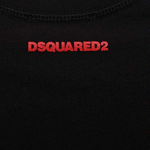 Dsquared2 Kids Red ICON Sweater Black 8 Years Black: Amazon