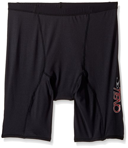 O'Neill Wetsuits UV Sun Protection Mens Skins Shorts ,Black, - Skin Second Wetsuits