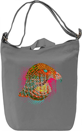 Colorful Eagle Borsa Giornaliera Canvas Canvas Day Bag| 100% Premium Cotton Canvas| DTG Printing|