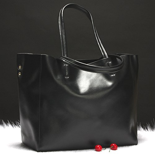 Temperamental match All Bolsa Bolsa black Grande GUANGMING77 Bolso Bronce qvTXUUz