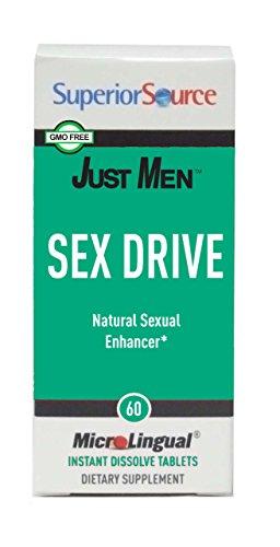 Superior Source Just Men Sex Drive 60 count