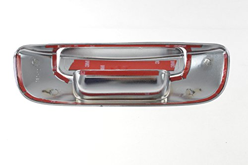 Fits 02-08 DODGE RAM DODGE RAM 1500/2500/3500/4500/5500 NO HOLE - Chrome Tailgate Handle Covers