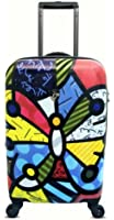 Heys USA Luggage Britto Butterfly 22 Inch Hardside Carry-on Spinner