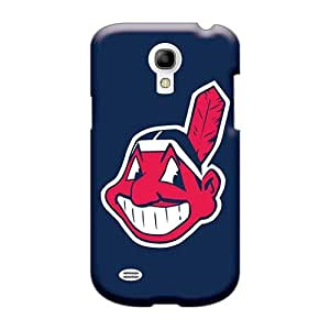 JohnPrimeauMaurice Samsung Galaxy S4 Mini Perfect Hard Phone Case Support Personal Customs Vivid Cleveland Indians Pattern [ZLI8762FwjY]