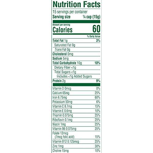 413yYOKJlAL - Gerber Organic Single-Grain Oatmeal Baby Cereal, 8 Ounces (Pack Of 6)