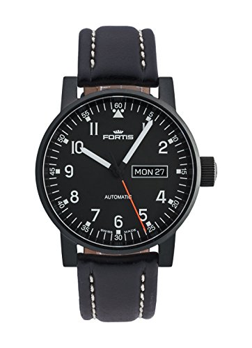 Fortis Gents-Wristwatch Spacematic Pilot Professional Day/Date Analog Automatic 623.18.71 L.01