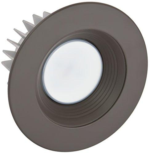 Bronze Baffle - American Lighting X4-DBB-DB-X45 4-Inch Downlight X45 Series Trim Kit with Dark Bronze Baffle, Dark Bronze