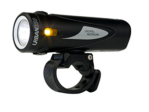 Light and Motion Urban 350 Headlight (Obsidian Stout)