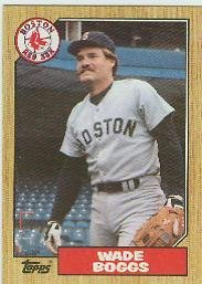 Used, Wade Boggs 1987 Topps Card #150 for sale  Delivered anywhere in USA