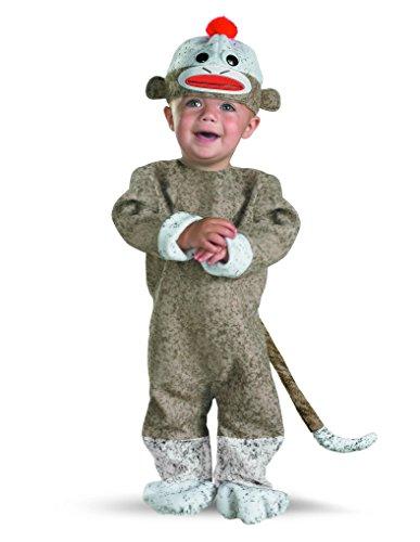 Unisex Baby Sock Monkey Costume
