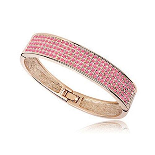 [LOMOL Womens Fashion Elegant Noble Charm Alloy Crystal Bracelets(C3)] (Egyptian Woman Costume Uk)