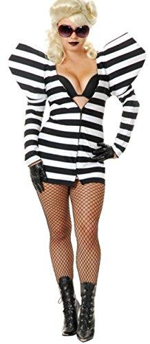 Charades Lady G Prison Dress Costume