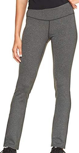 GAP Womens GapFit Slim Straight Pants, Charcoal Grey (M)